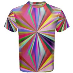 Star A Completely Seamless Tile Able Design Men s Cotton Tee