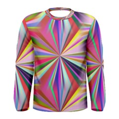 Star A Completely Seamless Tile Able Design Men s Long Sleeve Tee