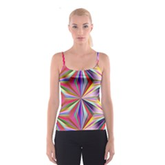 Star A Completely Seamless Tile Able Design Spaghetti Strap Top