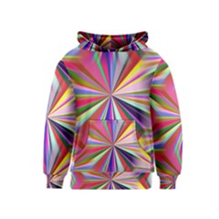 Star A Completely Seamless Tile Able Design Kids  Pullover Hoodie