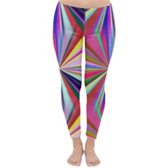 Star A Completely Seamless Tile Able Design Classic Winter Leggings
