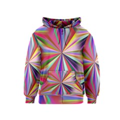 Star A Completely Seamless Tile Able Design Kids  Zipper Hoodie