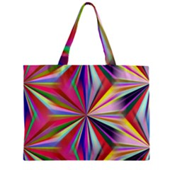 Star A Completely Seamless Tile Able Design Zipper Mini Tote Bag