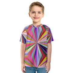 Star A Completely Seamless Tile Able Design Kids  Sport Mesh Tee