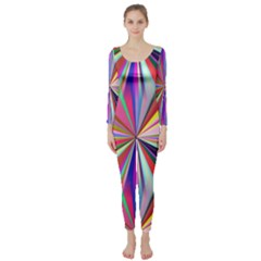 Star A Completely Seamless Tile Able Design Long Sleeve Catsuit