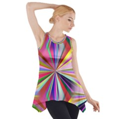 Star A Completely Seamless Tile Able Design Side Drop Tank Tunic