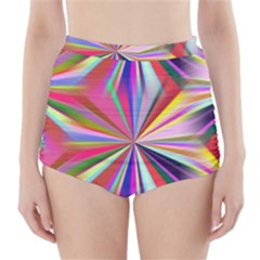 Star A Completely Seamless Tile Able Design High-Waisted Bikini Bottoms