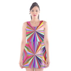 Star A Completely Seamless Tile Able Design Scoop Neck Skater Dress