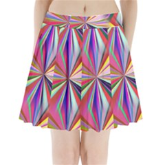 Star A Completely Seamless Tile Able Design Pleated Mini Skirt
