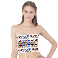 A Creative Colorful Background With Hearts Tube Top
