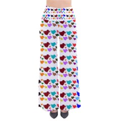 A Creative Colorful Background With Hearts Pants
