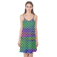 Digital Polka Dots Patterned Background Camis Nightgown