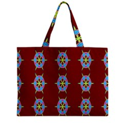 Geometric Seamless Pattern Digital Computer Graphic Mini Tote Bag