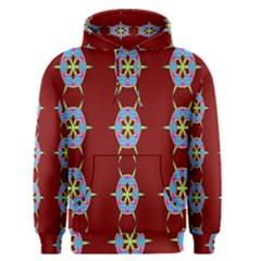 Geometric Seamless Pattern Digital Computer Graphic Men s Pullover Hoodie