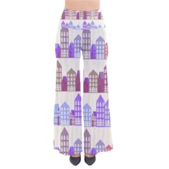 Houses City Pattern Pants