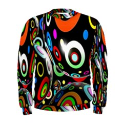 Background Balls Circles Men s Sweatshirt