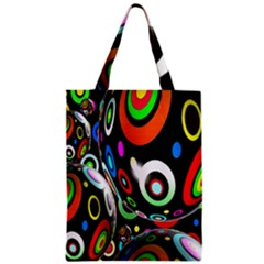 Background Balls Circles Zipper Classic Tote Bag