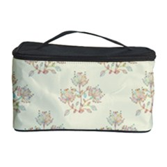 Seamless Floral Pattern Cosmetic Storage Case