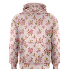 Beautiful hand drawn flowers pattern Men s Pullover Hoodie