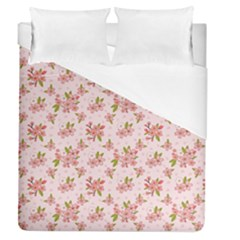 Beautiful hand drawn flowers pattern Duvet Cover (Queen Size)