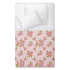 Beautiful hand drawn flowers pattern Duvet Cover (Single Size)