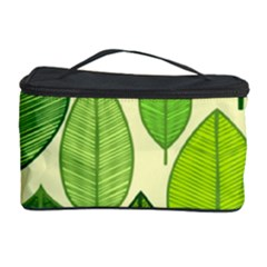 Leaves pattern design Cosmetic Storage Case
