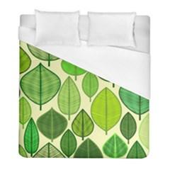Leaves pattern design Duvet Cover (Full/ Double Size)