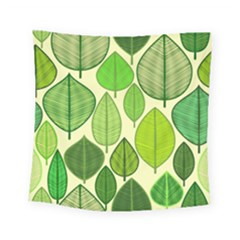 Leaves pattern design Square Tapestry (Small)