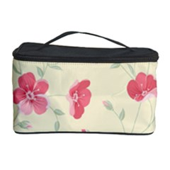 Seamless Flower Pattern Cosmetic Storage Case