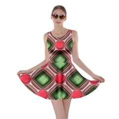 Gem Texture A Completely Seamless Tile Able Background Design Skater Dress