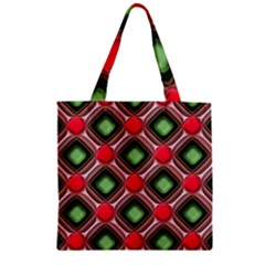 Gem Texture A Completely Seamless Tile Able Background Design Zipper Grocery Tote Bag