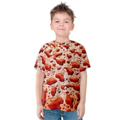 Water Drops Background Kids  Cotton Tee