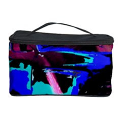 Abstract Artwork Of A Old Truck Cosmetic Storage Case