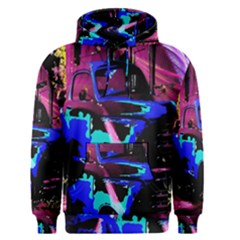 Abstract Artwork Of A Old Truck Men s Pullover Hoodie