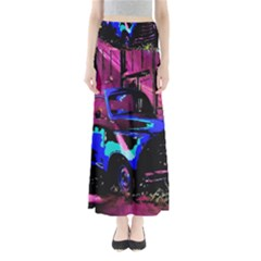 Abstract Artwork Of A Old Truck Maxi Skirts