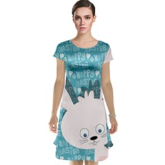 Easter bunny  Cap Sleeve Nightdress