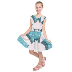 Easter bunny  Kids  Short Sleeve Dress