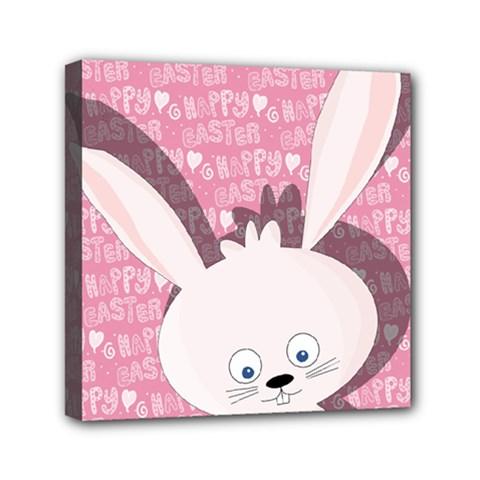 Easter bunny  Mini Canvas 6  x 6