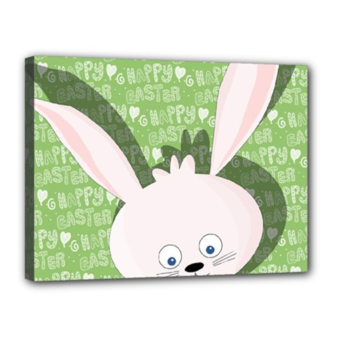 Easter bunny  Canvas 16  x 12