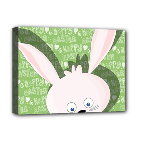 Easter bunny  Deluxe Canvas 16  x 12