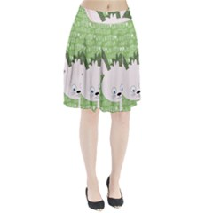 Easter bunny  Pleated Skirt