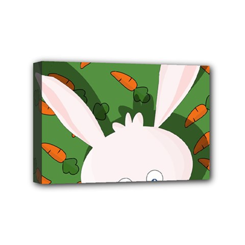 Easter bunny  Mini Canvas 6  x 4