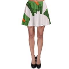 Easter bunny  Skater Skirt