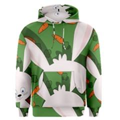 Easter bunny  Men s Pullover Hoodie