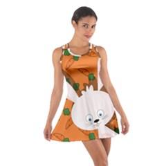 Easter bunny  Cotton Racerback Dress