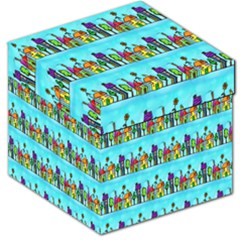 Colourful Street A Completely Seamless Tile Able Design Storage Stool 12