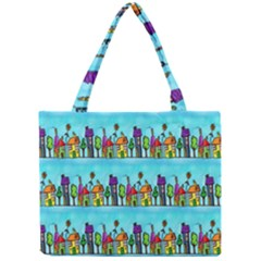 Colourful Street A Completely Seamless Tile Able Design Mini Tote Bag