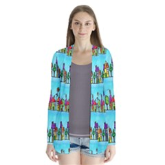 Colourful Street A Completely Seamless Tile Able Design Cardigans
