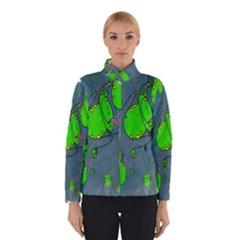 Cartoon Grunge Frog Wallpaper Background Winterwear