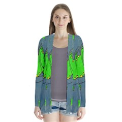 Cartoon Grunge Frog Wallpaper Background Cardigans